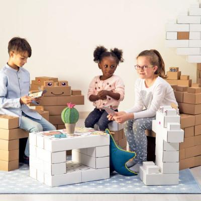 Vezua-mattoncini-costruzione-cartone-riciclato