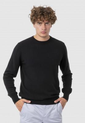 Vezua-maglia-cashmere-riciclato-adam-nero