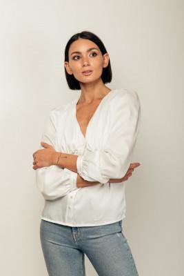 Vezua-blusa-fibre-riciclate-bianca