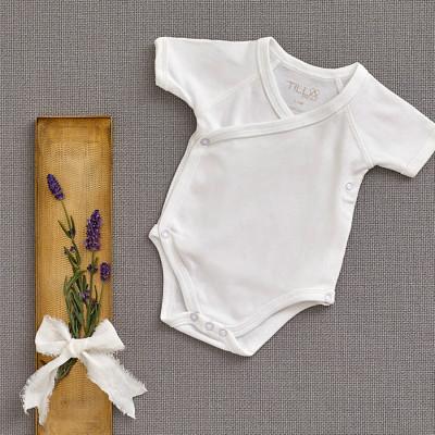 Body neonato cotone biologico 0-3 mesi